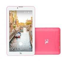 Tablet DL Mobi Tela 7 3G Rosa TX384 Dual Chip -