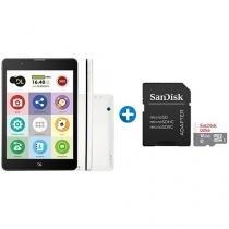"""Tablet DL TabFácil 8GB 7,85"""" 3G e Wi-Fi   - Android 7 + Cartão de Memória 16GB SanDisk"""