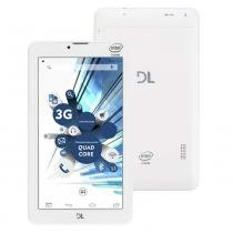 Tablet dl tabphone 710 , tela 7, android 5.0, 3g, wi-fi, câmera e processador intel quad core -