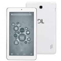 Tablet DL X Quad Core 2 TX309BRA,tela de 7, 8GB,Suporte à Modem 3G,Android 5.1,Quad Core de 1.2 Ghz -