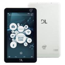 Tablet dl x-quad pro, 8gb, wi-fi, bluetooth, branco - tx-325bra -