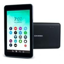 Tablet Everex Fine7 8Gb 512Mb Android 4.4 Quad Core - Preto - Everex computer