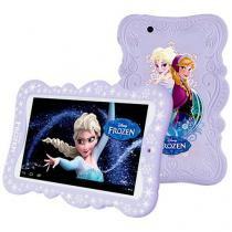 "Tablet Frozen Tectoy Tela 7"", Quad Core 1.3GHz, 8GB, Câmera 2MP, Android 5.0, Wi-Fi - Tec Toy"