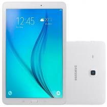 "Tablet Galaxy Tab E T560, Branco, Tela 9.6"", WiFi, Android 4.4, 5MP/2MP, 8GB - Samsung -"