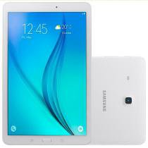 "Tablet Galaxy Tab E T561M, Branco, Tela 9.6"", 3G+WiFi, Android 4.4, 5MP/2MP, 8GB - Samsung -"