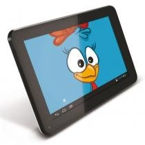Tablet Galinha Pintadinha 2 Android 4.2 Wi-Fi Tela 7 Touchscreen e Memória Interna 4GB - Tectoy -