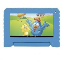 Tablet Infantil 7 Polegadas Galinha Pintadinha NB249 Azul - Multilaser - Multilaser