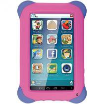 Tablet kid pad 7 quad core rosa multilaser nb195 - Multilaser