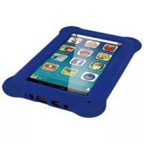 "Tablet Kid Pad 8GB Tela 7"" Case Borracha Azul Multilaser NB194 -"