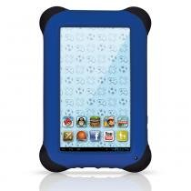 Tablet Kid Pad Android 4.1 Wireless Memória Interna 4GB Azul - Multikids -