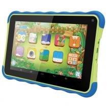 "Tablet Kids ATB 441K Preto com Verde, Tela 7"", Android 4.4, 1.3MP, 8GB - Amvox -"