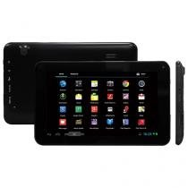 "Tablet Lenoxx TB 5400 8GB 7"" Wi-Fi Android 4.4 - Proc. Quad Core Câmera Integrada"