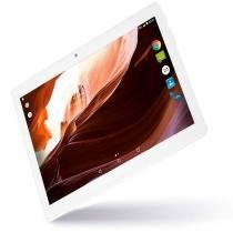 "Tablet M10A branco quad core android 6.0 dual câmera 3G e bluetooth tela 10"" polegadas Multilaser - NB254 - Branco - Multilaser"