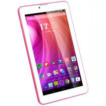 Tablet M7 3G Dual Core Android 4.4 2500 Mah Rosa Multilaser - Multilaser