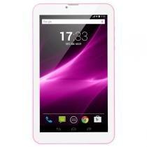 """Tablet M9-3G Quad 8GB 9"""" Rosa Multilaser- NB248 - Multilaser"""