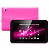 Tablet M9 Quad Core Android 4.4 Rosa NB174 Multilaser -