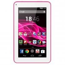 Tablet ML Supra Quad Core 7 Polegadas 8GB Rosa NB201 - Multilaser - Multilaser