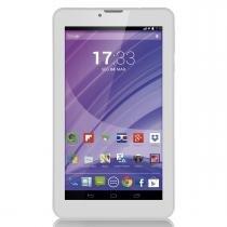 Tablet Multilaser Branco M7 3G Quad Core Câmera Wi-Fi Tela 7  Memória 8GB Dual Chip - NB224 - Branco - Multilaser