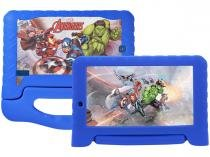 "Tablet Multilaser Disney Avengers Plus 8GB 7"" - Wi-Fi Proc. Quad Core Android 7.0 Câmera Integrada"