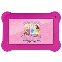 "Tablet Multilaser Disney Princesas 8GB 7"" Wi-Fi - Android Proc. Quad Core Câmera Integrada"