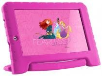 "Tablet Multilaser Disney Princesas Plus 8GB 7 ""  - Wi-Fi Android 7.0 Proc. Quad Core Câmera Integrada"