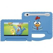 "Tablet Multilaser Galinha Pintadinha 8GB 7"" Wi-Fi - Android 4.4 Proc. Quad Core Câmera Integrada"
