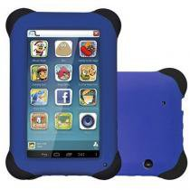 Tablet multilaser kid pad 8gb de ram,android 4.4, camera de 2mp nb194 - azul - Multilaser
