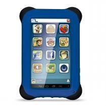 Tablet Multilaser Kid Pad Azul Quad Core Dual, Câmer,a Wi-Fi, Tela Capacitiva 7, Memória 8Gb - NB1 -