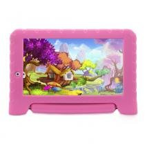 Tablet Multilaser Kid Pad Plus Rosa 1GB Android 7 Wifi Memória 8GB Quad Core Multilaser - NB279 -