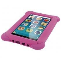 Tablet multilaser kid pad rosa quad core dual camera wi-fi tela capacitiva 7 memoria 8gb - nb195 - Multilaser