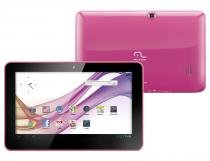 "Tablet Multilaser M10 Pink Tela 10"" Memória 4GB Flash Android 4.1 - Multilaser"