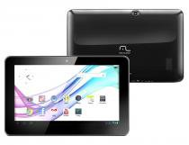 "Tablet Multilaser M10 Preto Tela 10"" Memória 4GB Flash Android 4.1 -"