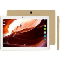 """Tablet Multilaser M10A 16GB 10"""" 3G Wi-Fi  - Android 7 Nougat Proc. Quad Core Câm 5MP + Frontal"""