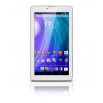 Tablet Multilaser M7 3G Branco Dual Core Dual Câmera Wi-Fi Tela Hd 7  Memória 8GB Dual Chip - Faz Ligações - NB163 - Branco - Multilaser