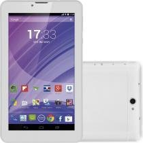 "Tablet Multilaser M7 3G Branco, Quad Core, Android 4.4, Dual Câmera, Tela 7"", Wi-Fi, 8GB, Dual Chip - Multilaser"