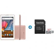 "Tablet Multilaser M7 3G Plus 8GB 7"" Wi-Fi  - Android 7.0 + Cartão de Memória 16GB SanDisk"