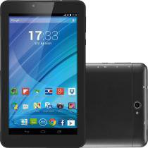 "Tablet Multilaser M7 3G Preto, Quad Core, Android 4.4, Dual Câmera, Tela 7"", Wi-Fi, 8GB, Dual Chip - Multilaser"