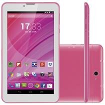 "Tablet Multilaser M7 8GB 7"" 3G Wi-Fi - Android 4.4 Proc. Quad Core Câmera Integrada"