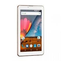 "Tablet Multilaser M7 Plus, Dourado, NB272, Tela de 7"", 8GB, 2MP -"