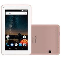 "Tablet Multilaser M7-S, 7"", Android 7.0, 2MP, 8GB - Rosa -"