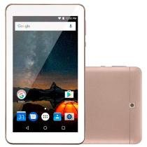"Tablet Multilaser M7-S, Dourado, Tela 7"", WiFi, Android 7.0, 2MP 8GB -"