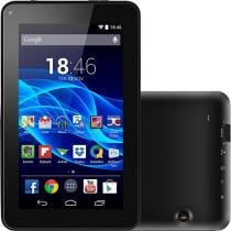 """Tablet Multilaser M7S 8GB Wi-Fi 7"""" Android 4.4 Quad Core - Preto -"""