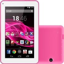 """Tablet multilaser m7s 8gb wi-fi tela 7"""" android 4.4 quad core - rosa - Multilaser"""