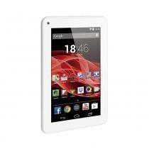 "Tablet Multilaser M7S Branco Quad Core Android 4.4 Kit Kat Dual Câmera Wi-Fi Tela Capacitiva 7"" Memória 8GB - NB185 - Multilaser"