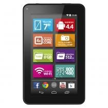"""Tablet Multilaser M7S NB184 8GB Wi-Fi Tela 7"""" Android 4.4 Quad Core Preto -"""