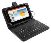Tablet Multilaser M7s Preto Com Teclado + Case Quad Core Android 4.4 Kit Kat Wi-fi Tela 7 Memoria 8gb - Nb196 - Multilaser