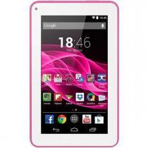 Tablet multilaser m7s, rosa, 7 polegadas, 512mb ram, 8gb, android 4.4 quad core 1,2ghz - nb186- rosa - Multilaser