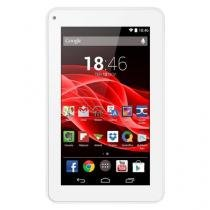 "Tablet Multilaser M7s - Tela 7"", Android 4.4, Quad Core 1.2GHz, Câmera, 8GB, Wi-Fi - NB185 Branco -"