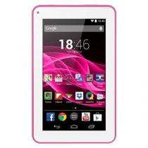 "Tablet Multilaser M7s - Tela 7"", Android 4.4, Quad Core 1.2GHz, Câmera, 8GB, Wi-Fi - NB186 Rosa - Multilaser"