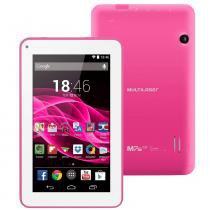 "Tablet Multilaser M7s Tela 7"" Dual Core Rosa NB118 - Multilaser"